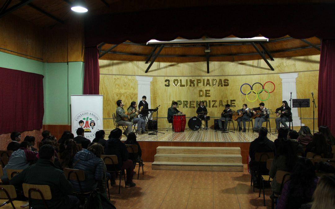 Premiación de las Olimpiadas de Aprendizaje